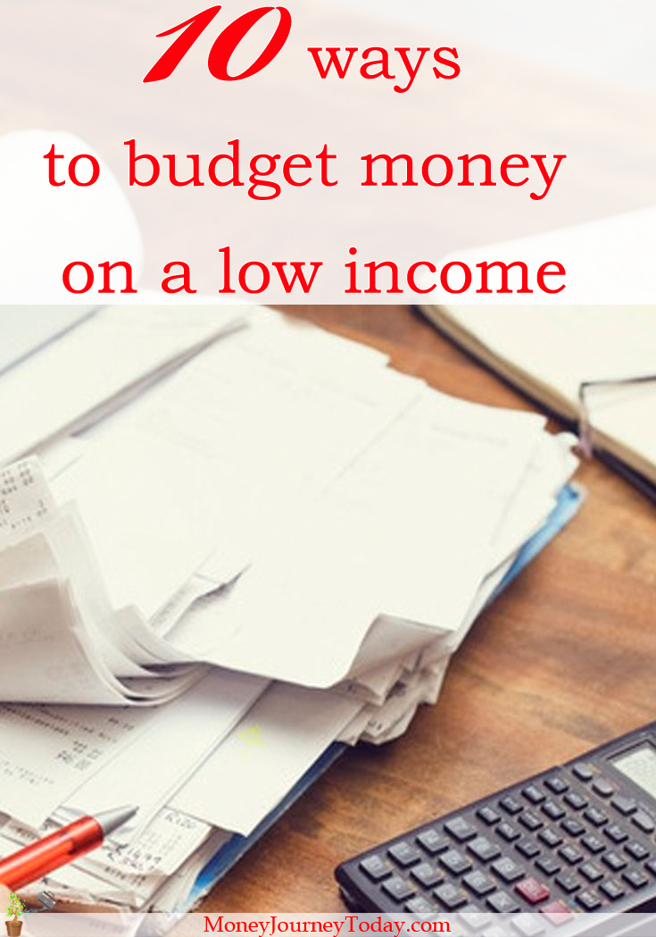 Are you living paycheck to paycheck? See how you can budget money on a low income! Good financial management is definitely worth it in the long run!