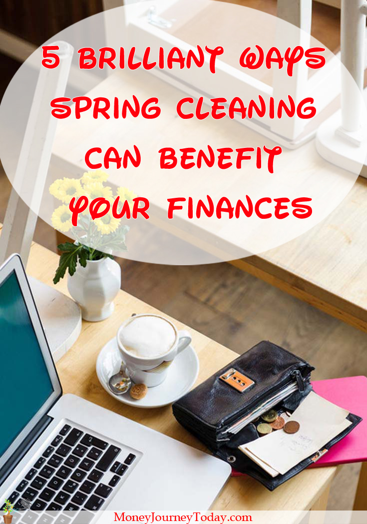 Ever wondered if spring cleaning can benefit your finances? Of course it can. Here are 5 ways spring cleaning could help you both save and earn money.
