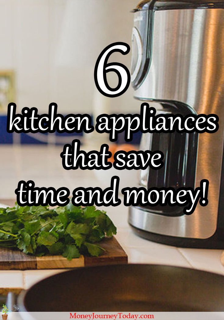 Saving both time and money in the kitchen? Yes! Certain kitchen appliances can help you save both time and money! Find out which!