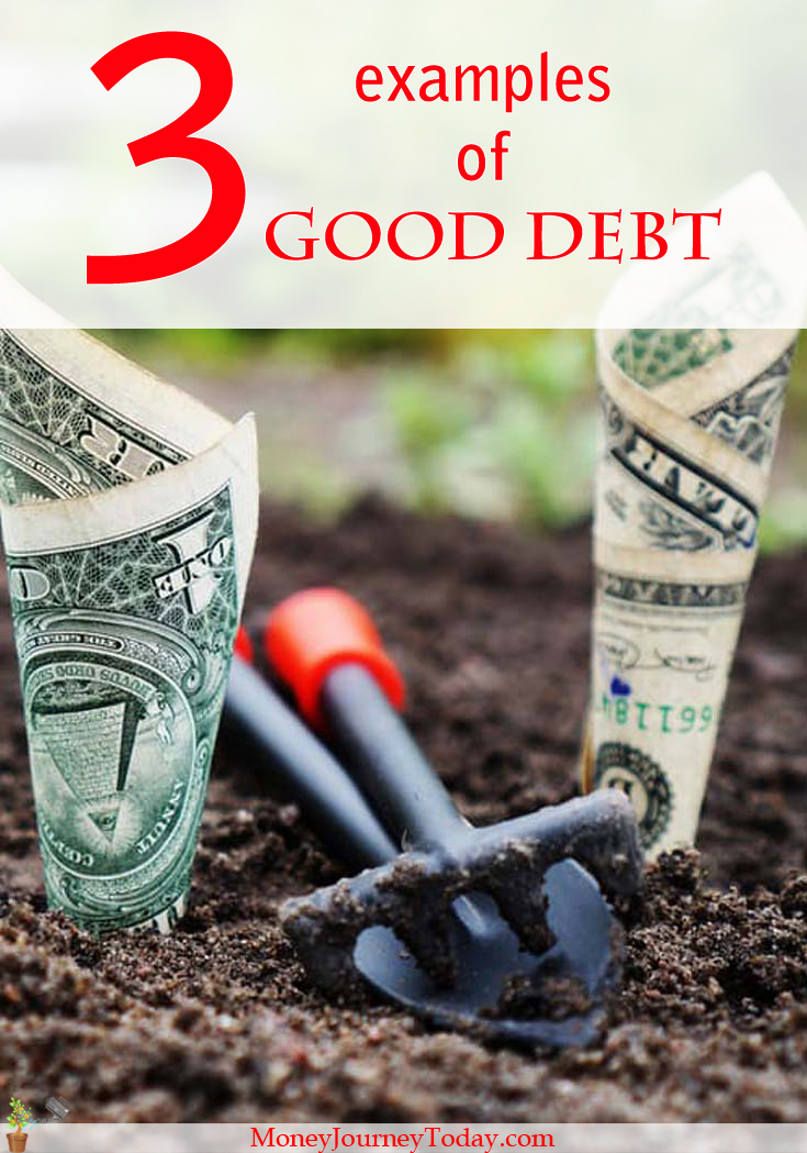 Is debt bad? Of course it is, it's the opposite of financial freedom! However, certain types of good debt actually exist!