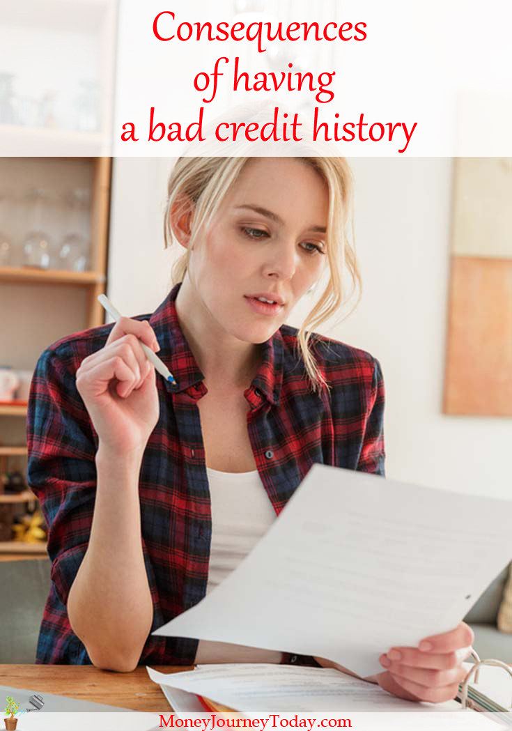 It's no secret that poor financial money management leads to suffering the consequences of a bad credit history. See how a bad credit score can affect you.