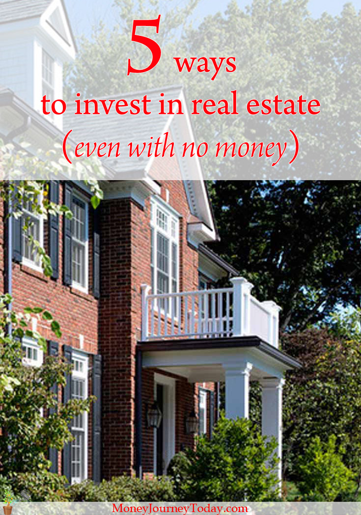 Buying real estate often implies a mortgage and sacrifices to pay it off. But today there are plenty of ways to invest in real estate, even with no money!