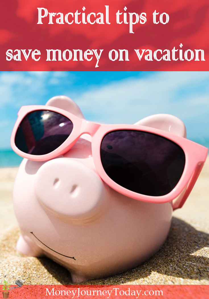 Save money on vacation! Summer travel is always great fun. These practical tips to save on your vacation will help you enjoy your trip even more!