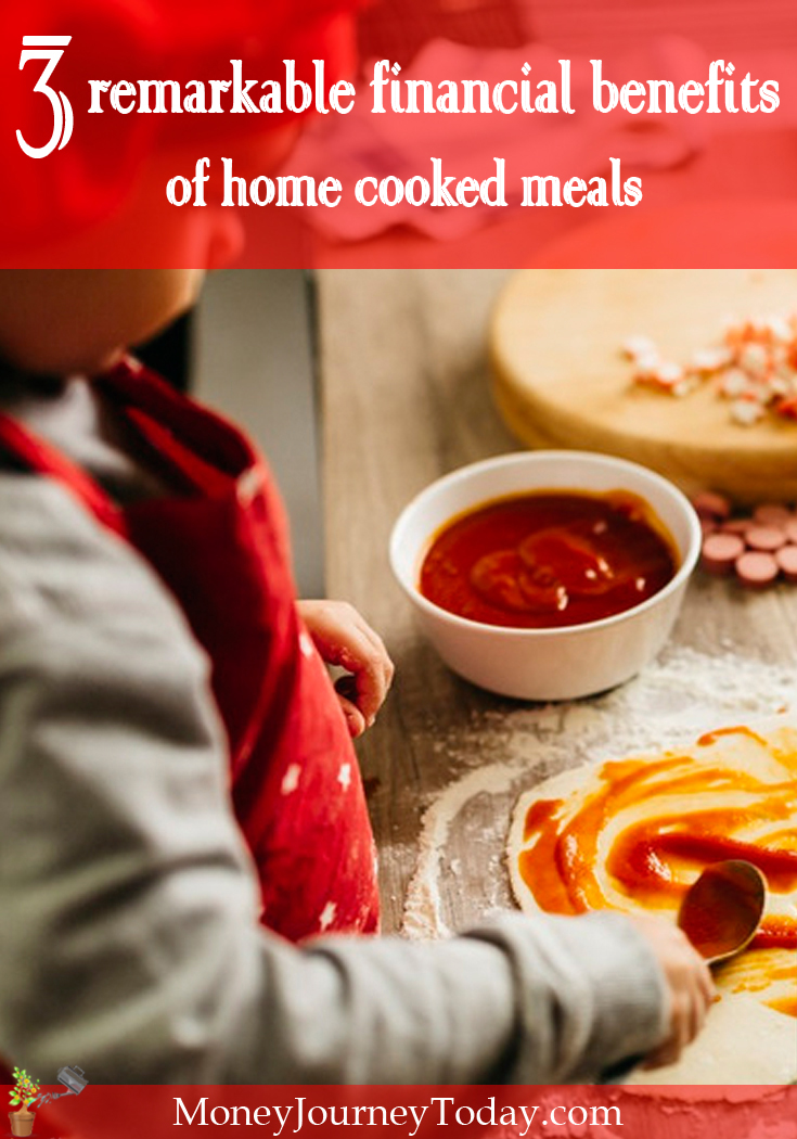 Aside from obviously saving money on your restaurant bill, there are other remarkable financial benefits of cooking at home we often fail to consider.