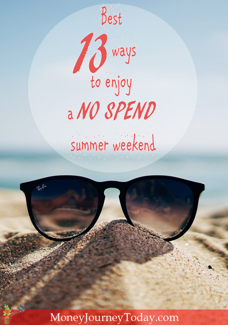 Is there such a thing as a no spend summer weekend? Can you really let a whole weekend go by without spending a dime? Yes! It's possible! Find out how.