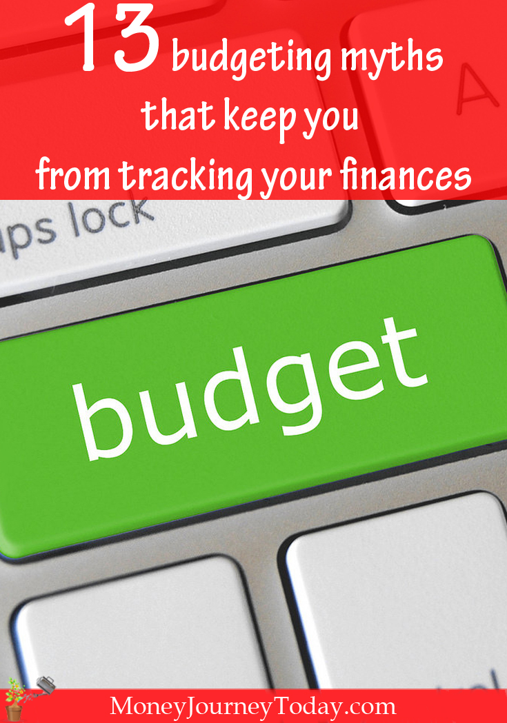 Budgeting myths that keep you from tracking your money are popular. Learn about the most common ones and start getting your finances on the right track!