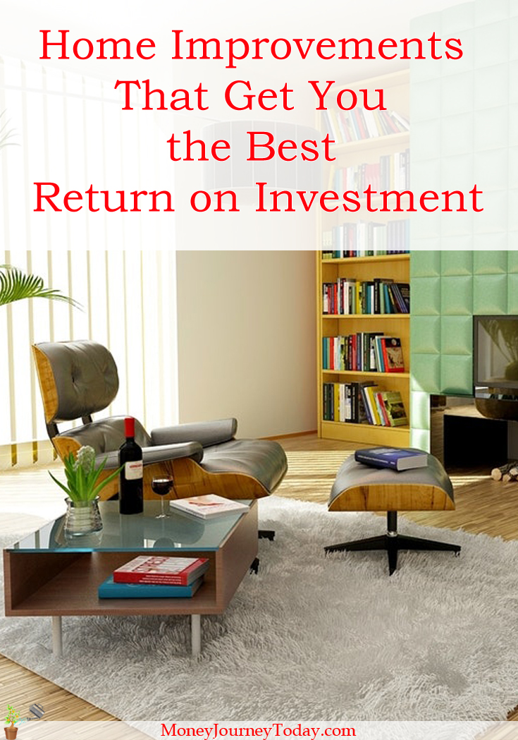 Which are the Home Improvements That Get You the Best Return on Investment?