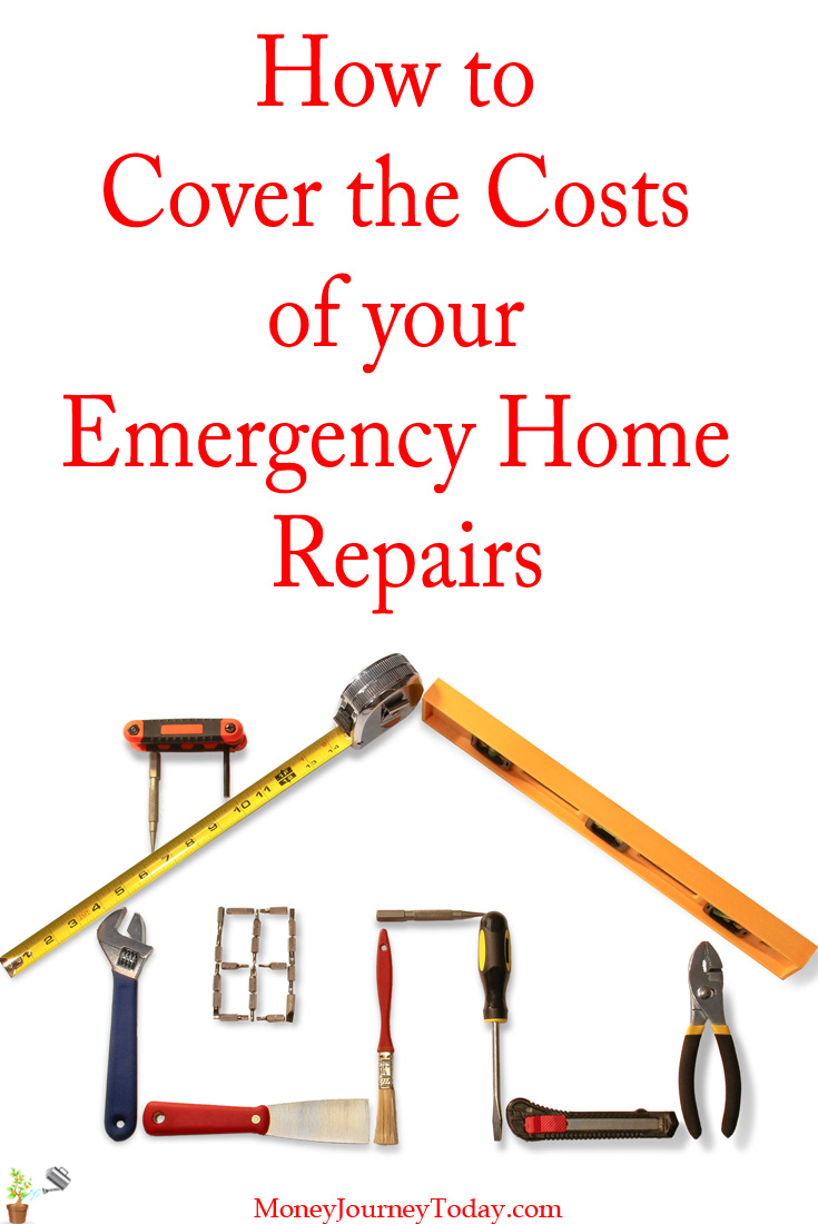 How to Cover the Costs of your Emergency Home Repairs