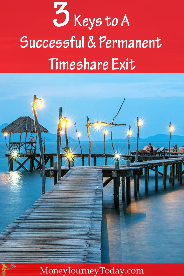 3 Keys to A Successful Permanent Timeshare Exit