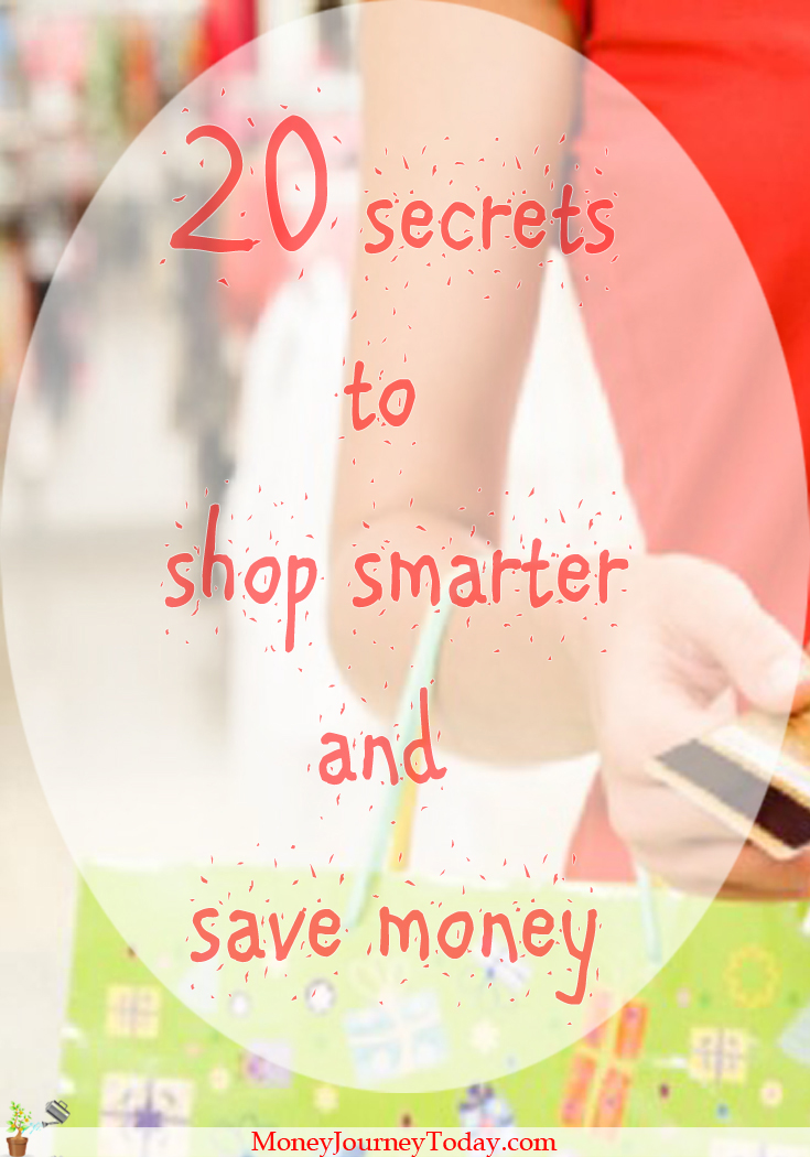 Spending more than you need is never OK for your budget. Think how much money you could save if only you learned the secrets to shop smarter and save money!