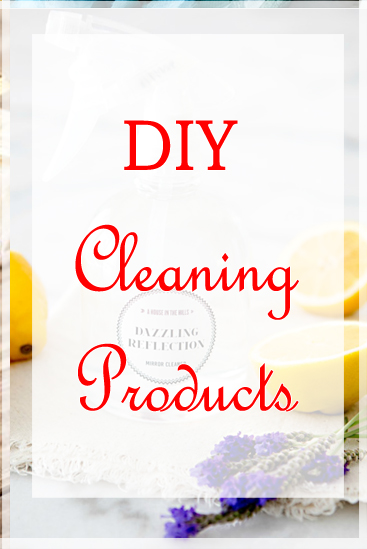 DIY to save money? If you need to save more money and care about your health and environment, see how easy it is to make some of your own products at home! Make your own cleaning products to save money at home.