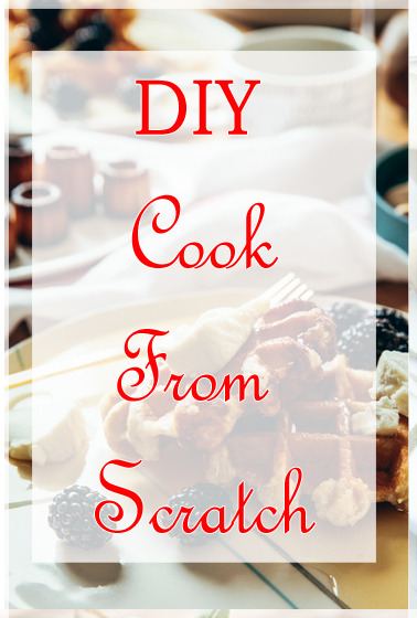 DIY to save money? If you need to save more money and care about your health and environment, see how easy it is to make some of your own products at home! Cooking from scratch helps save a lot of money.
