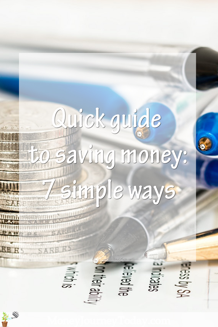 Quick guide to saving money