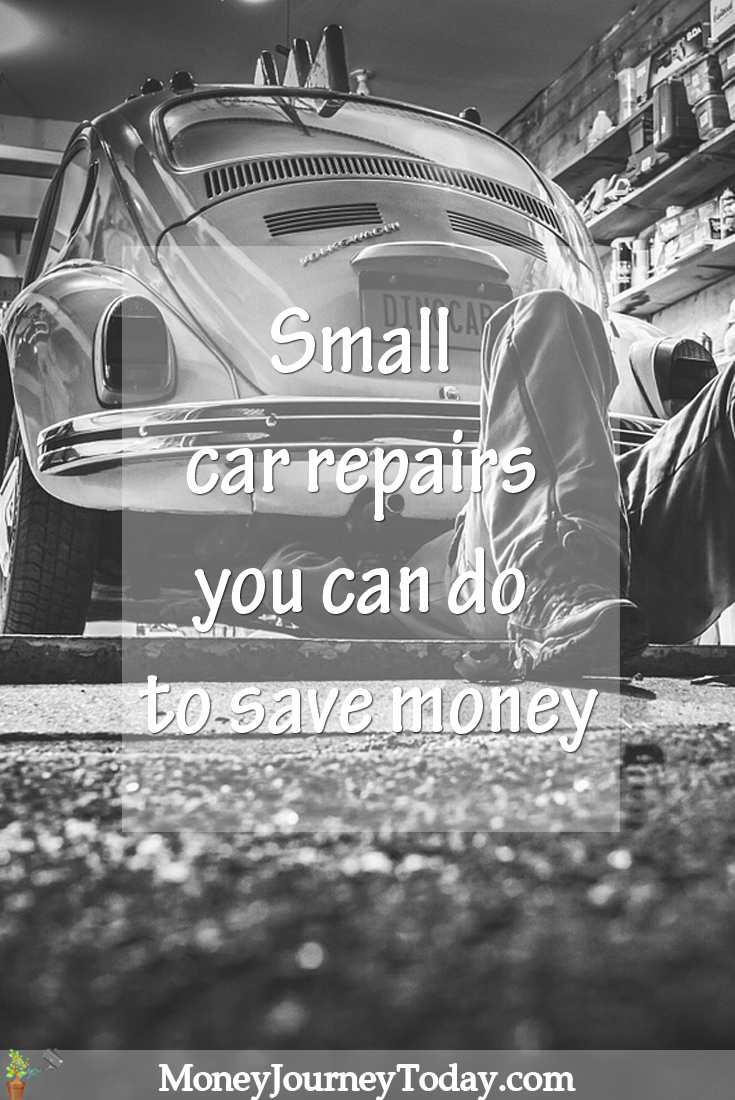 Small car repairs to save money