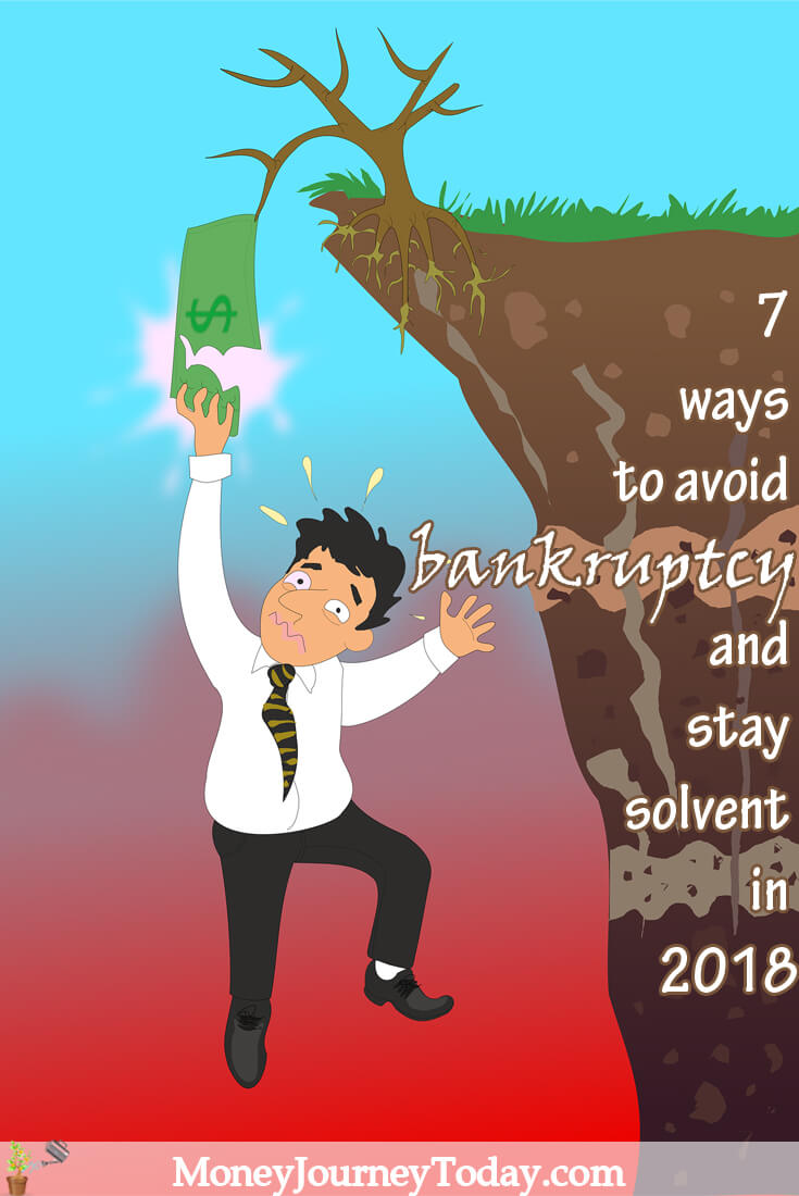 7 ways to avoid bankruptcy
