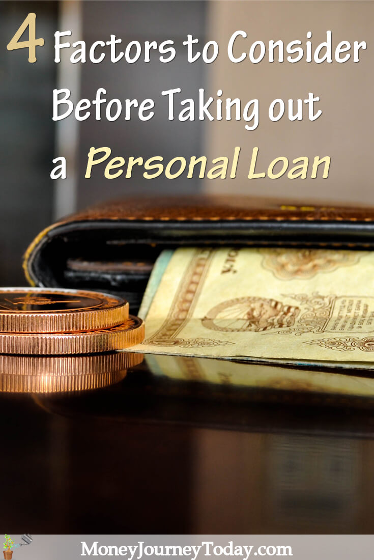 Factors to Consider Before Applying Personal Loan