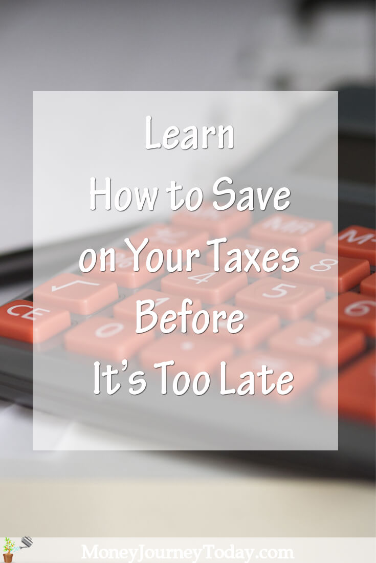 Learn How to Save on Your Taxes