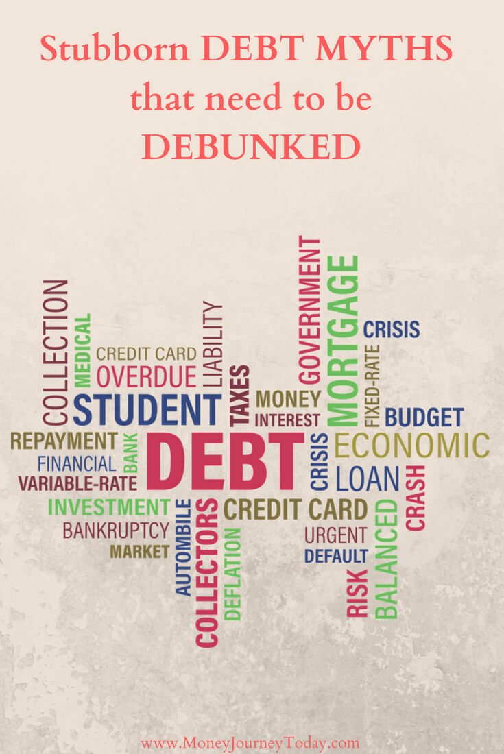 Stubborn Debt Myths that Need to be Debunked