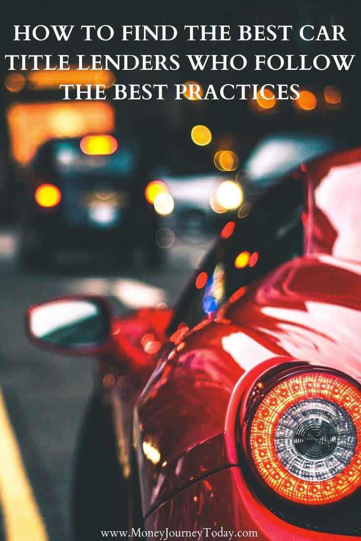 Best Car Title Lenders