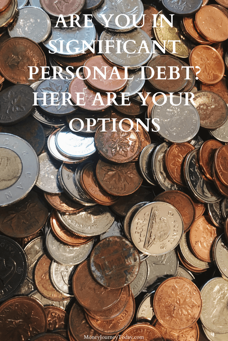 Are You In Significant Personal Debt Here Are Your Options
