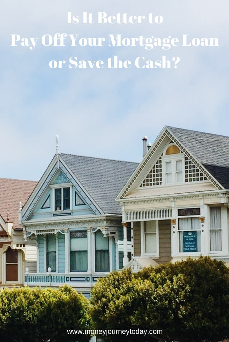 Is It Better to Pay Off Your Mortgage Loan or Save the Cash